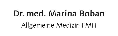 Dr. med. Marina Boban FMH Allgemeinmedizin